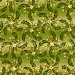 Henry Glass Country Journey Pin Wheel Ombre - Green main