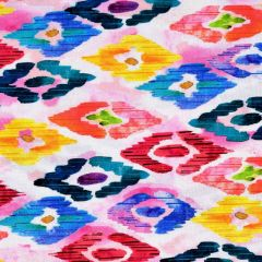 Quilting Treasures Rosalyn Diamond Geo - Pink main