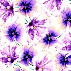 Quilting Treasures Emma Tossed Flowers - Tan main