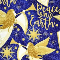 Northcott Angels Above - Stonehenge Peace on Earth - Blue main