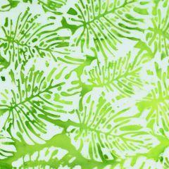Northcott Banyan Batiks - Boho Beach Big Leaf - Lime/White main
