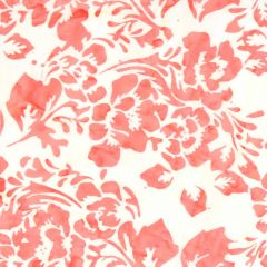 Northcott Banyan Batiks - Boho Beach Big Floral - Coral/Cream main