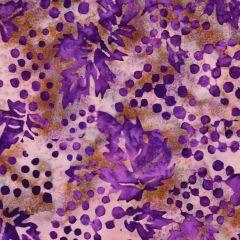 Northcott Banyan Batiks - Vino Grapes - Purple/Brown main