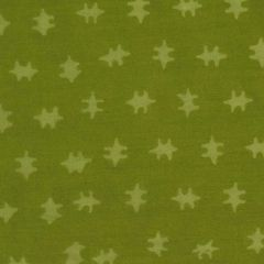 Northcott Banyan Batiks - Jungle Rose Double Cross Dot - Green main
