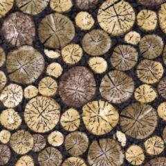 Northcott North Ridge Flannel Log Rounds - Gray main