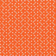 Andover Darling Clementine Flour Sack Herringbone - Orange main
