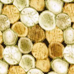 Kanvas Nature Walk Rustic Logs - Light Oak main