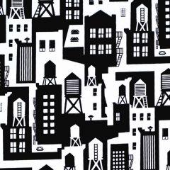 Blank Domino Effect  Water Towers - Black main