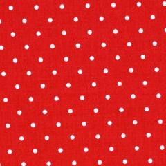 Henry Glass Sewing Mends the Soul Small Dots - Red main