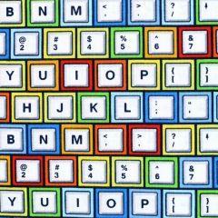 Studioe Saved By the Bell Keyboard - White main