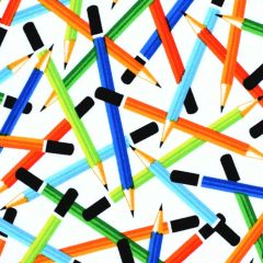 Studioe Saved By the Bell Pencils - White main