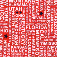 Studioe Truckin' In the USA Four - Way States - Red main