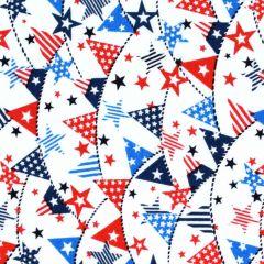 Studioe Truckin' In the USA Mini Banners - White main