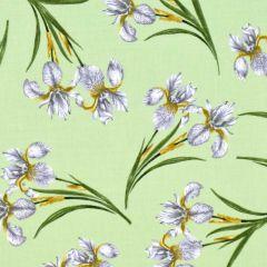Benartex Magnificent Blooms  Iris - Sage main