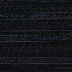 Benartex Magnificent Blooms  Nouveau Stripe - Black main