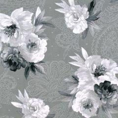 Maywood Studio Nocturne Flowers on Paisley - Dark Gray main