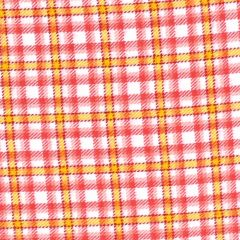 Marcus Aunt Grace Primo Plaids Flannel Tattersal Check - Pink/Orange main