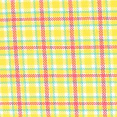 Marcus Aunt Grace Primo Plaids Flannel Tattersal Check  - Yellow/Green main
