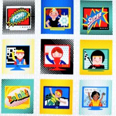 Studioe Super Heroes Blocks Panel main