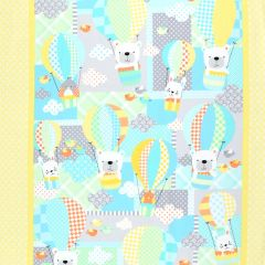 Kanvas Breezy Baby Flannel Panel Sunshine Flannel main