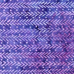 Maywood Studio Java Batiks Herringbone - Purple main