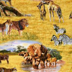 Elizabeth's Studio African Animals Great Plains Scenic main
