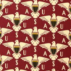 Andover Salute Eagle Shield - Turkey Red main