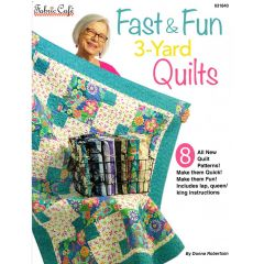 Fabric Cafe Fast & Fun 3 Yard Quilts front