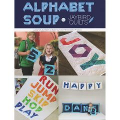 Jaybird Quilts Alphabet Soup Book front