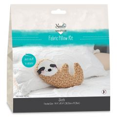 Needle Creations Pillow Kit - Sloth front