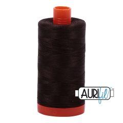 Aurifil Thread - Very Dark Bark