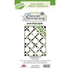 Maywood Studio English Countryside Irish Chain Quilt Pod front