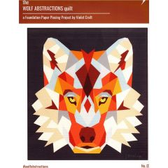 Violet Craft The Wolf Abstractions Quilt front