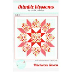Thimble Blossoms Patchwork Swoon front
