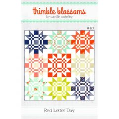 Thimble Blossoms Red Letter Day front