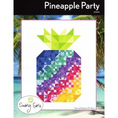 Swirly Girls Pineapple Party front