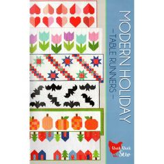 Cluck Cluck Sew Modern Holiday Table Runners front