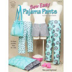 Sew Easy Pajama Pants - Front