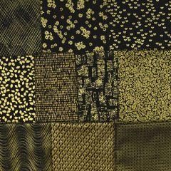 Kanvas Metallic Mixers Black and Gold Pack