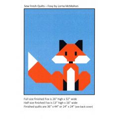 Sew Fresh Quilts Foxy front
