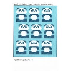 Sew Fresh Quilts Panda Please! front