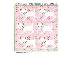 Sew Fresh Quilts Kitten Kaboodle front