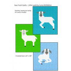 Sew Fresh Quilts Little Lamb front