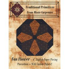 Traditional Primitives - Fan Flower Pattern and Papers