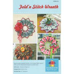 Fold'n Stitch Wreath - Front
