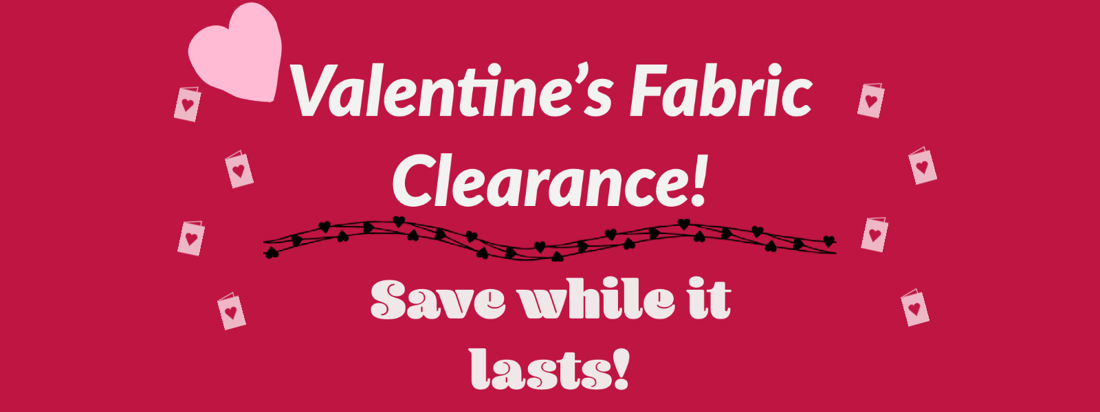 Valentines Clearance